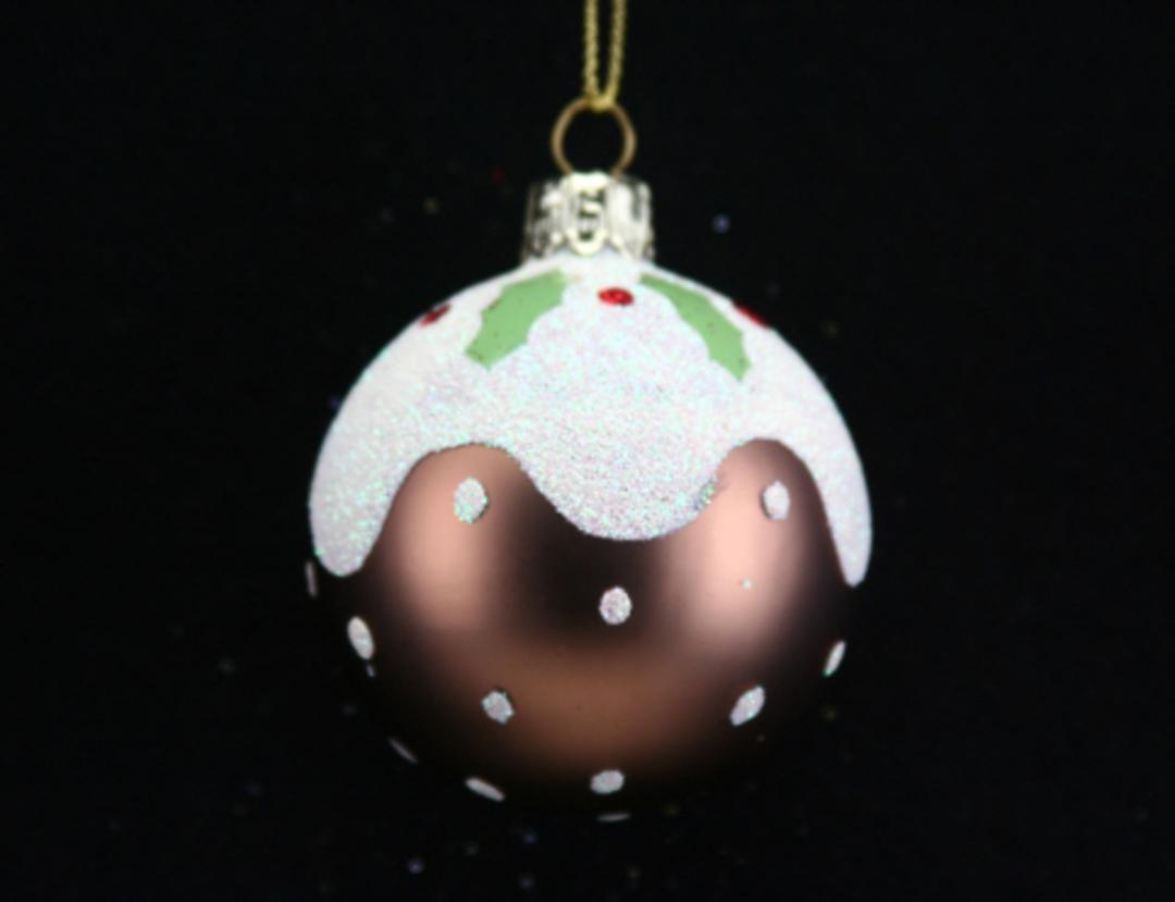 Glass Ball Brown, Pudding image 0