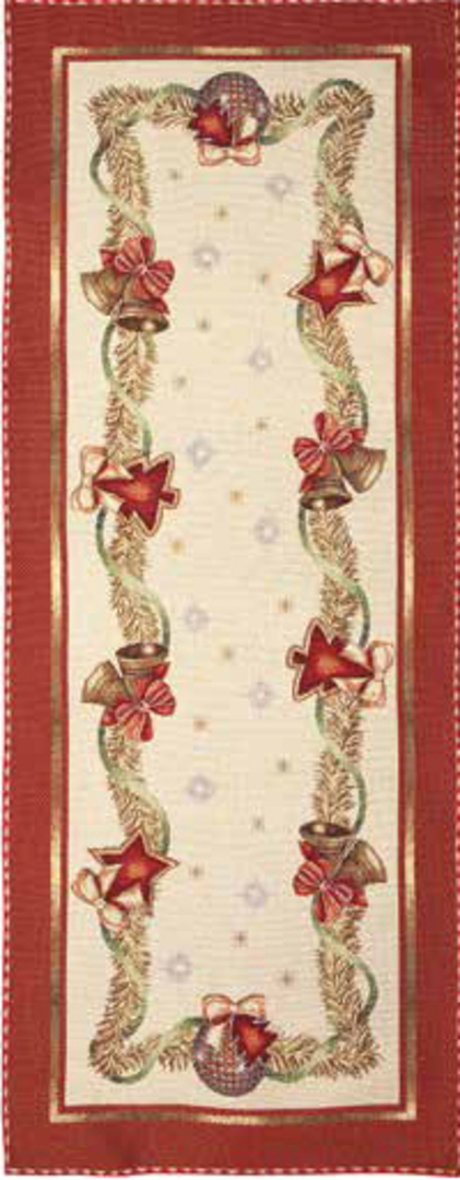 Bells Table Runner 45 x140cm image 0