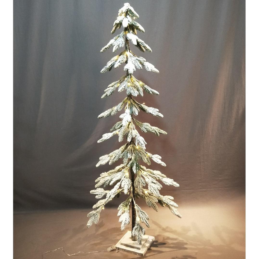 Snowy Fir Tree 1.8mtr, 80 LED Lights image 1