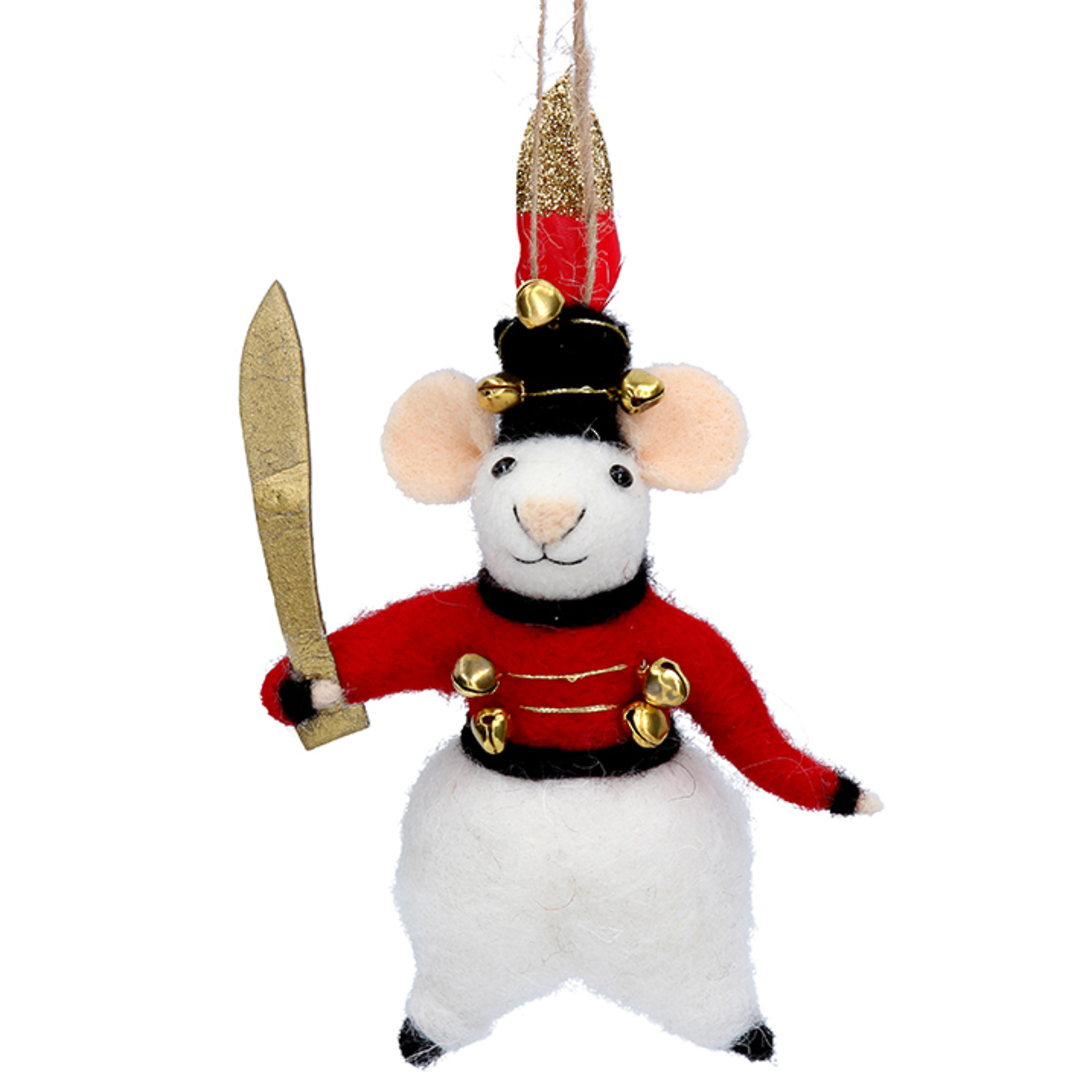 EcoWool Mouse Soldier 17cm image 0