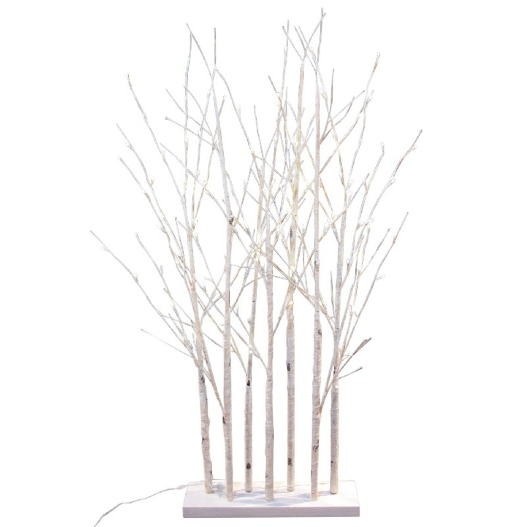 Birch Forest 1.5mtrs, 120 LED Lights image 0