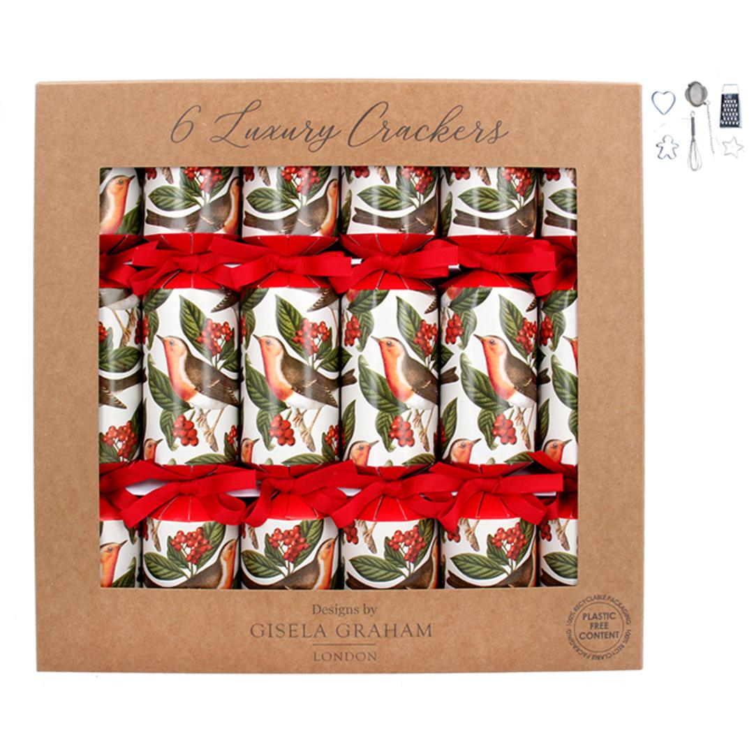 Christmas Crackers, Robin, Box 6 image 0
