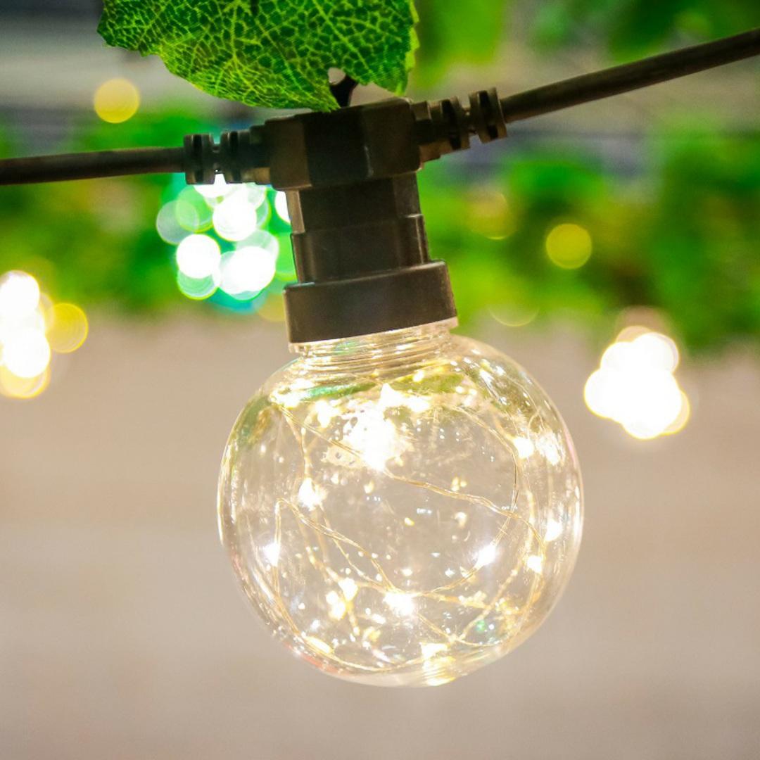 Twinkle Sphere Lights 5mtr, Water Resistant image 0