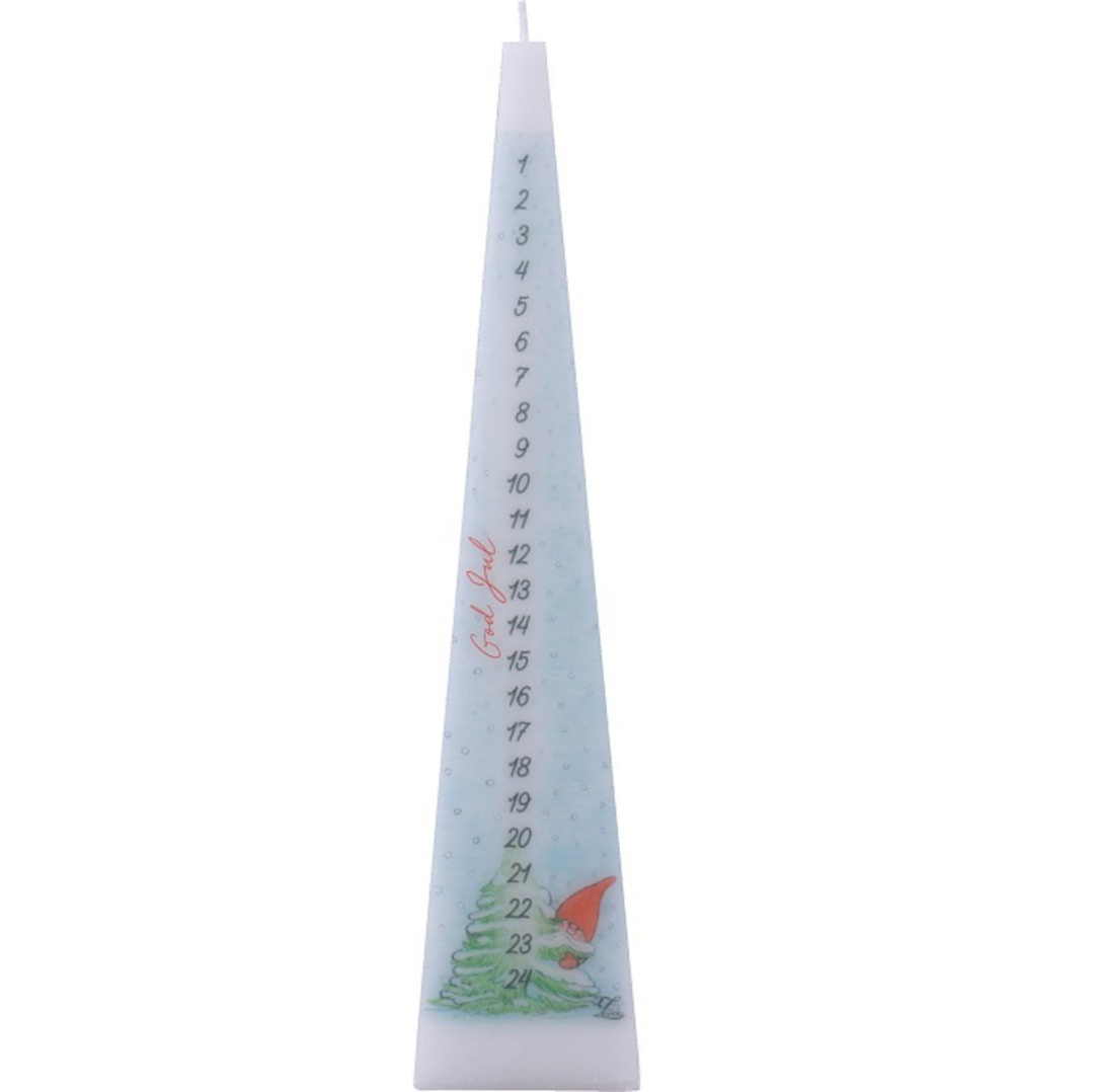Advent Candle Pyramid, Lone Gnome image 0