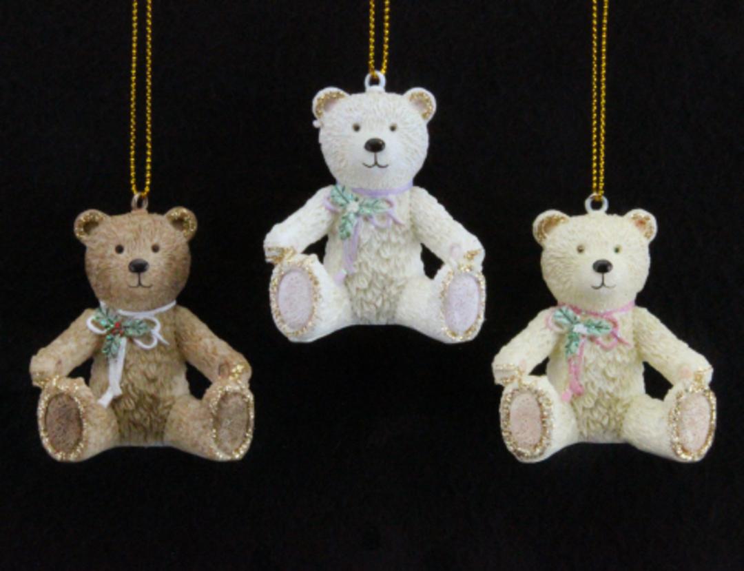 Resin Victorian Teddy 5cm image 0
