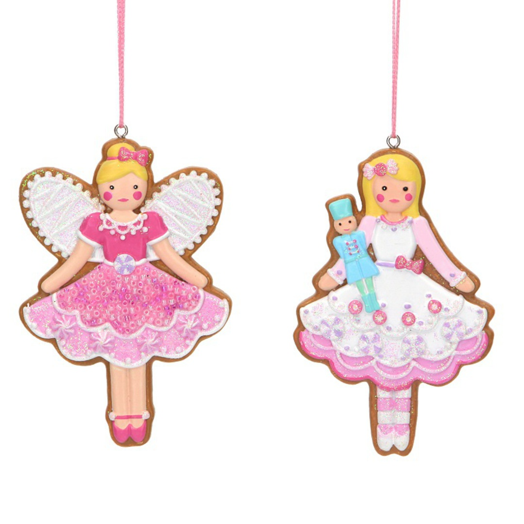 Resin Gingerbread Ballerina 13cm image 0