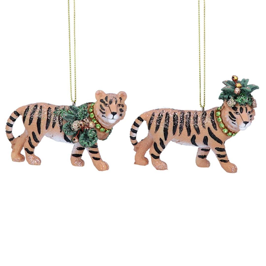 Resin Noble Jungle Tiger 8cm image 0