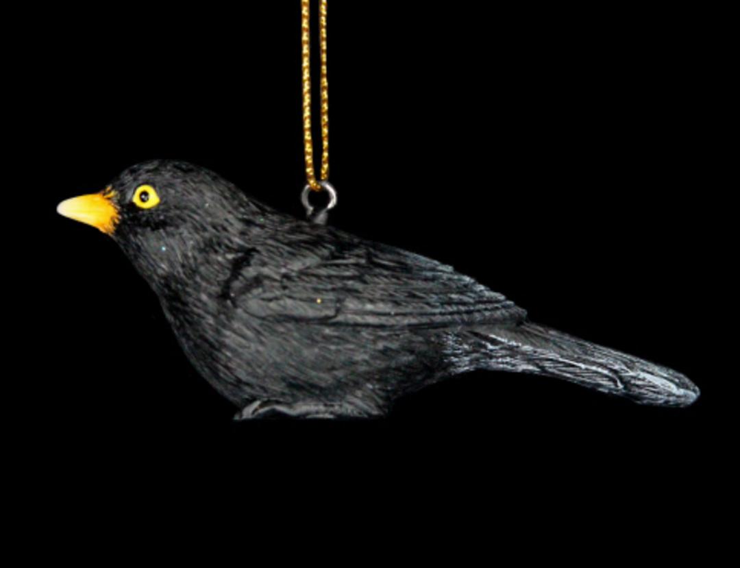 Resin BlackBird 6cm image 0