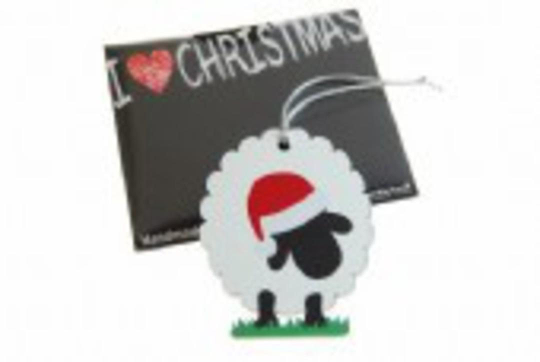 Hanging I Love Christmas, Sheep image 0