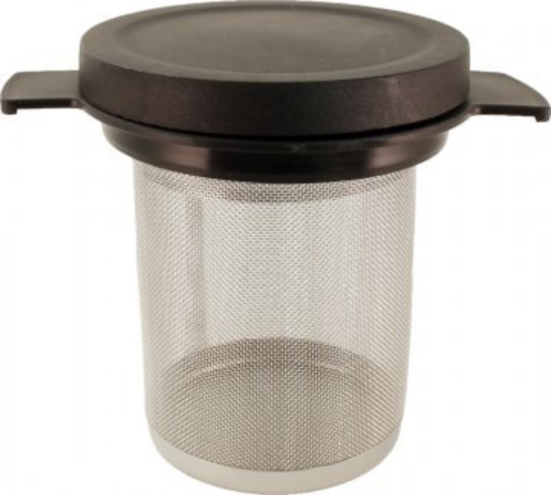Stainless Steel Tea Filter with Lid image 0