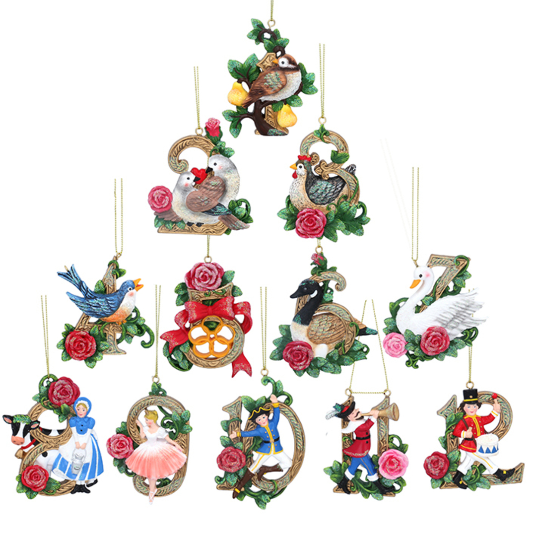 Resin Fairytale 12 Days of Xmas, Pack 12 image 0