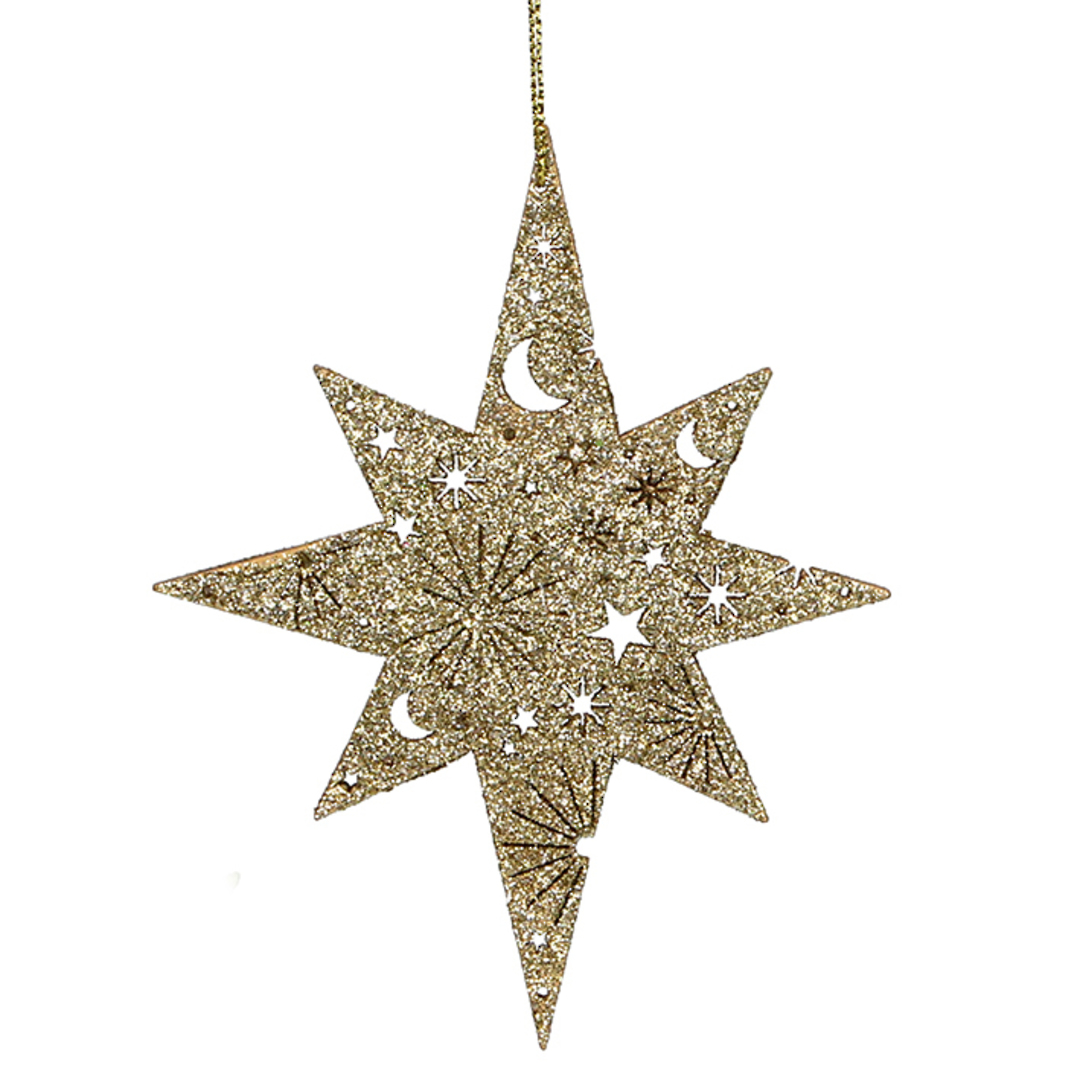 Wood Bethlehem Star 13cm image 0