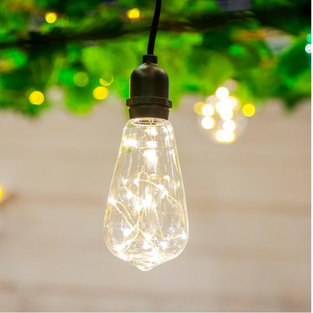 Twinkle Vintage Lights 5mtr, Water Resistant image 0