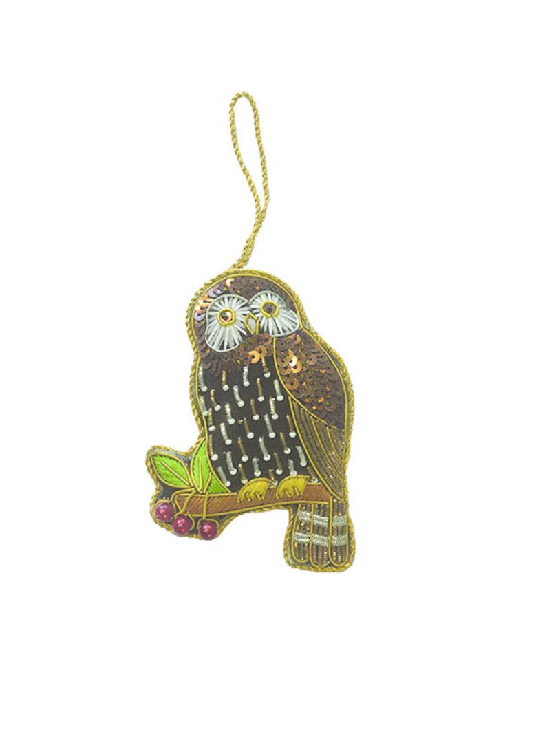 Hanging NZ Bird, Morepork / Ruru image 0