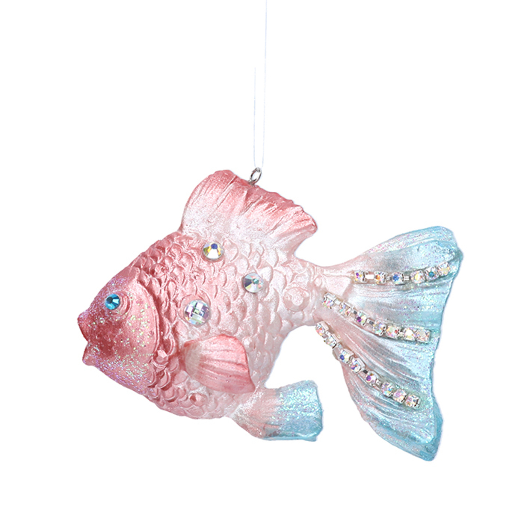Resin GoldFish 9cm image 0