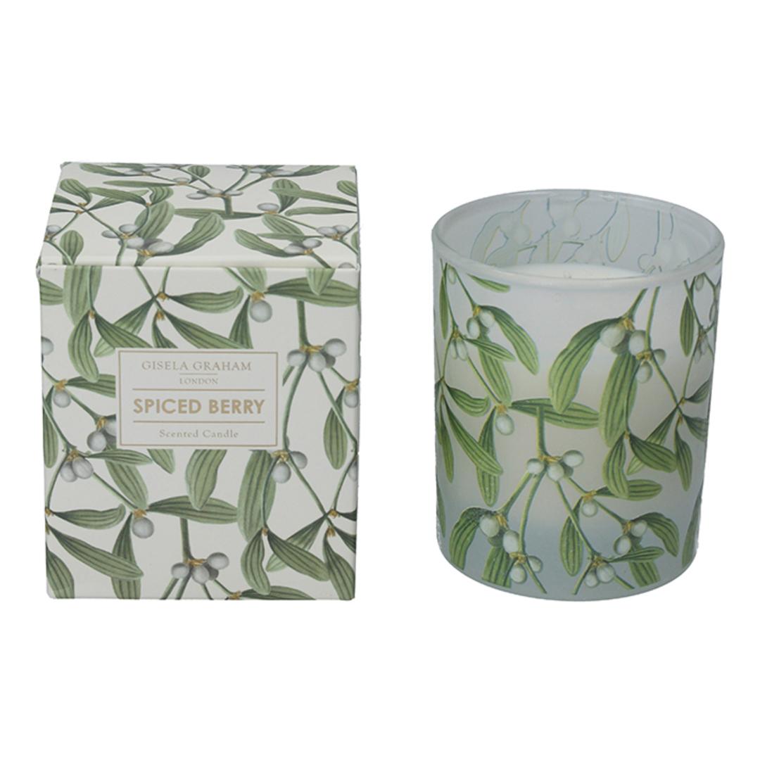 Mistletoe, Candle Jar 10cm image 0