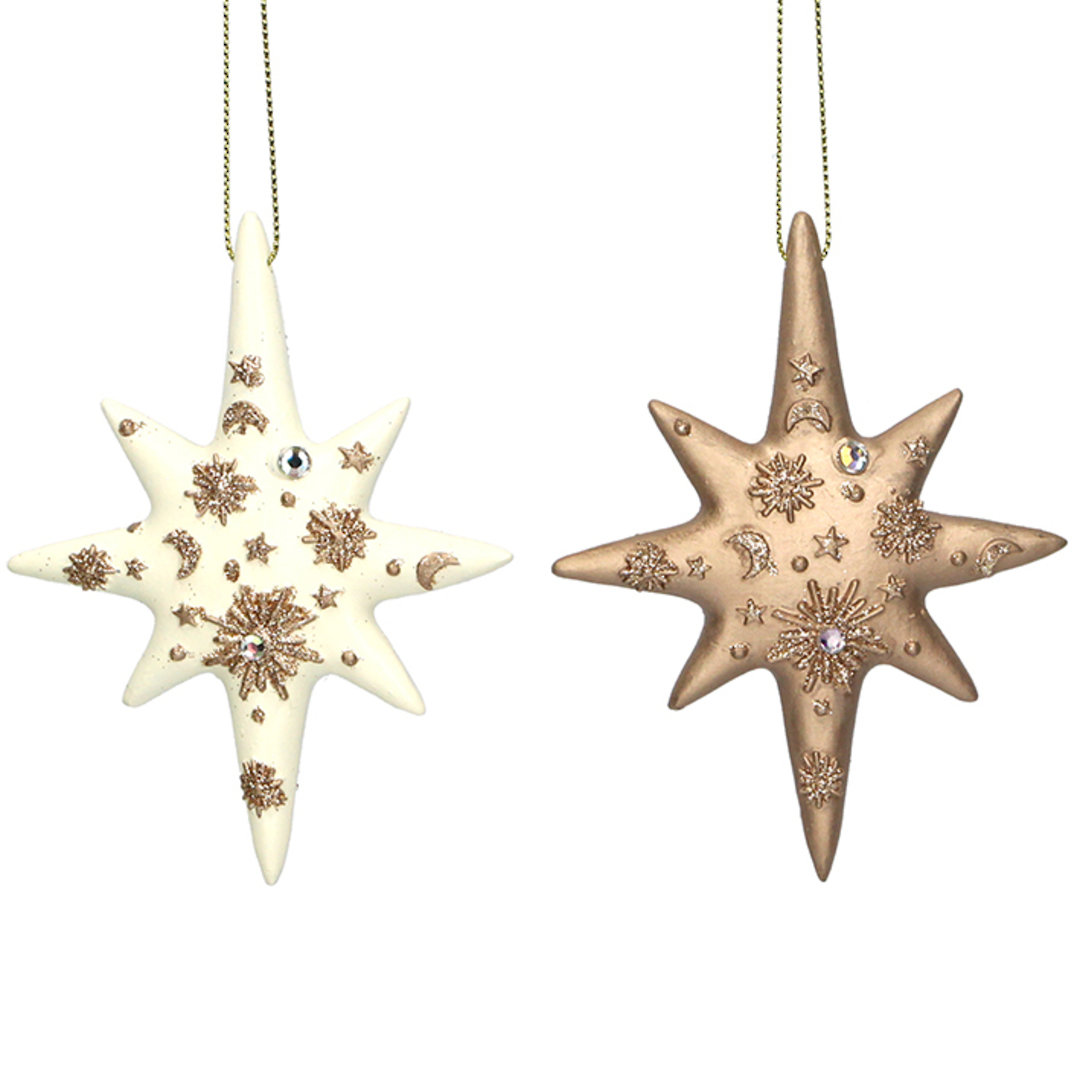 Resin Diamante Star 10cm image 0
