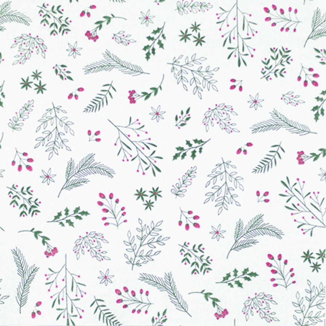 Paper Napkins 33cm, Little Branches Hygge image 0