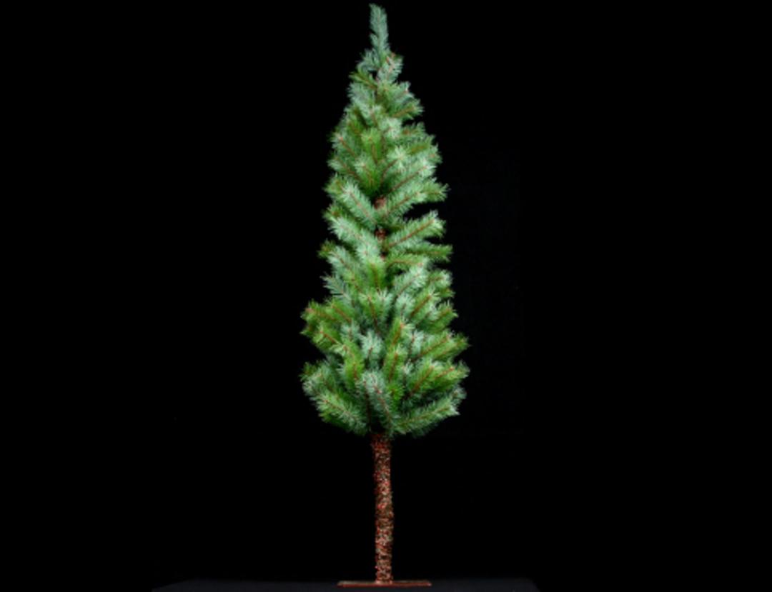 Slimline Green Fir Tree Med 122cm image 0
