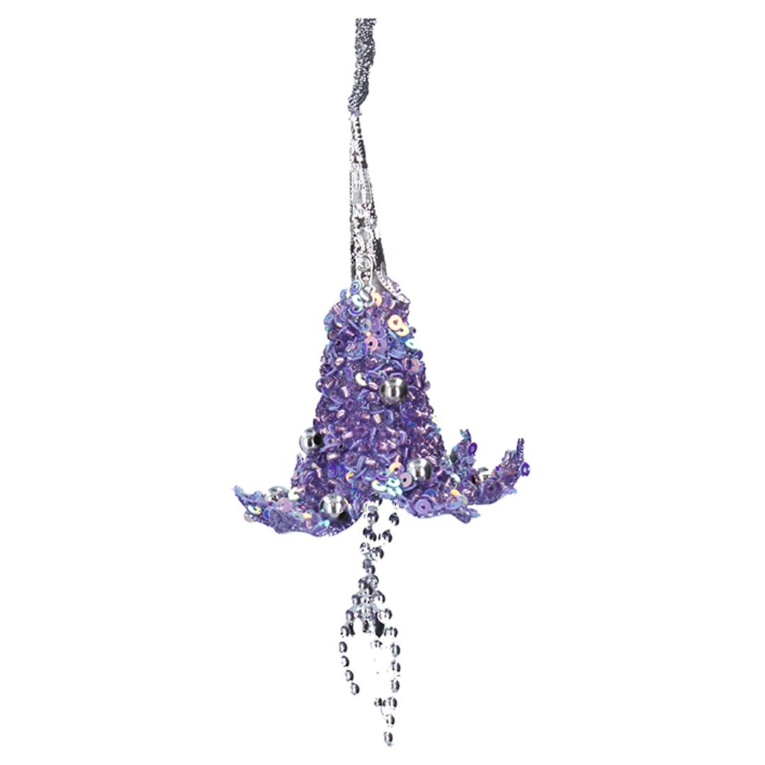 Bead Lilac Lotus Flower 9cm image 0