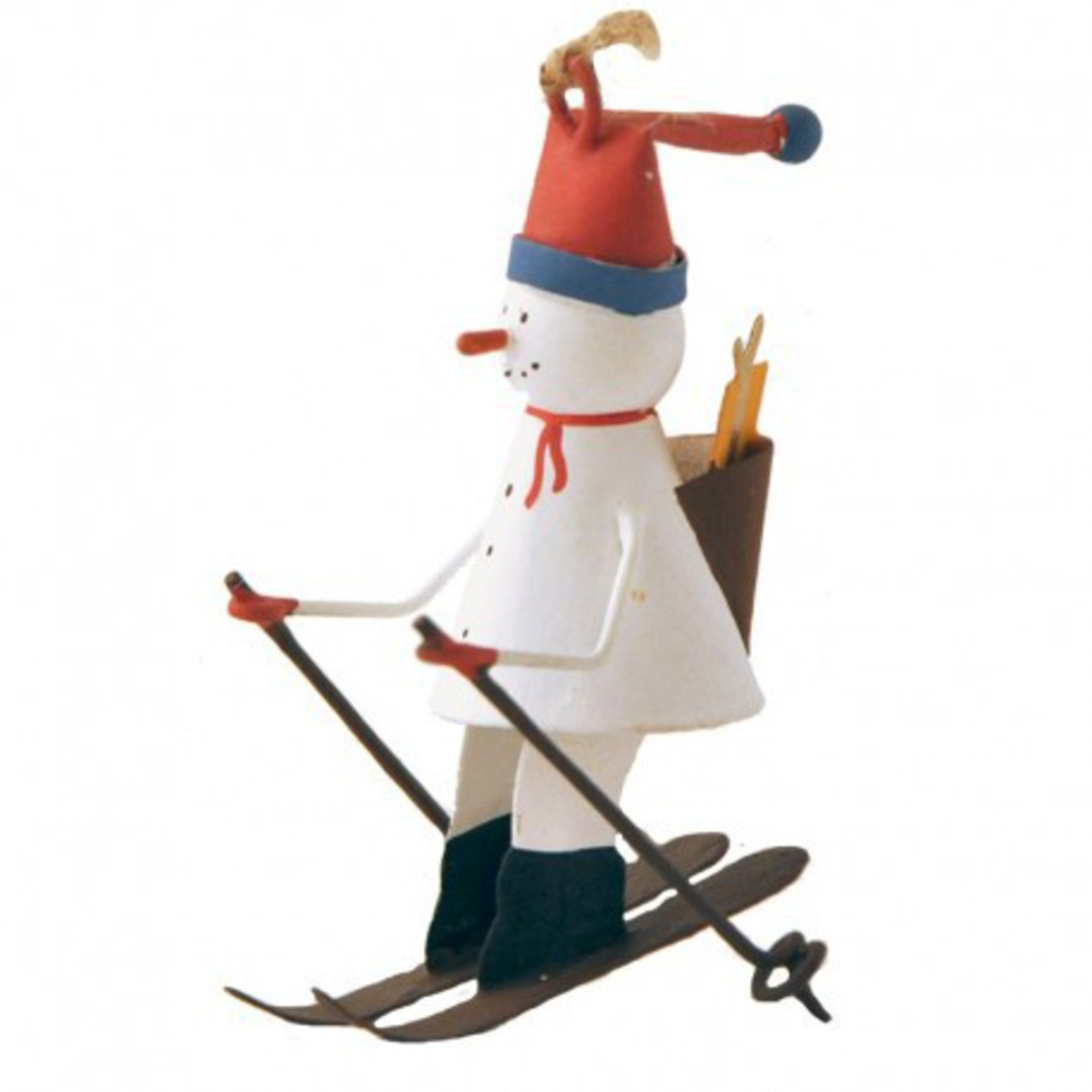 Tin Snowman Sking image 0