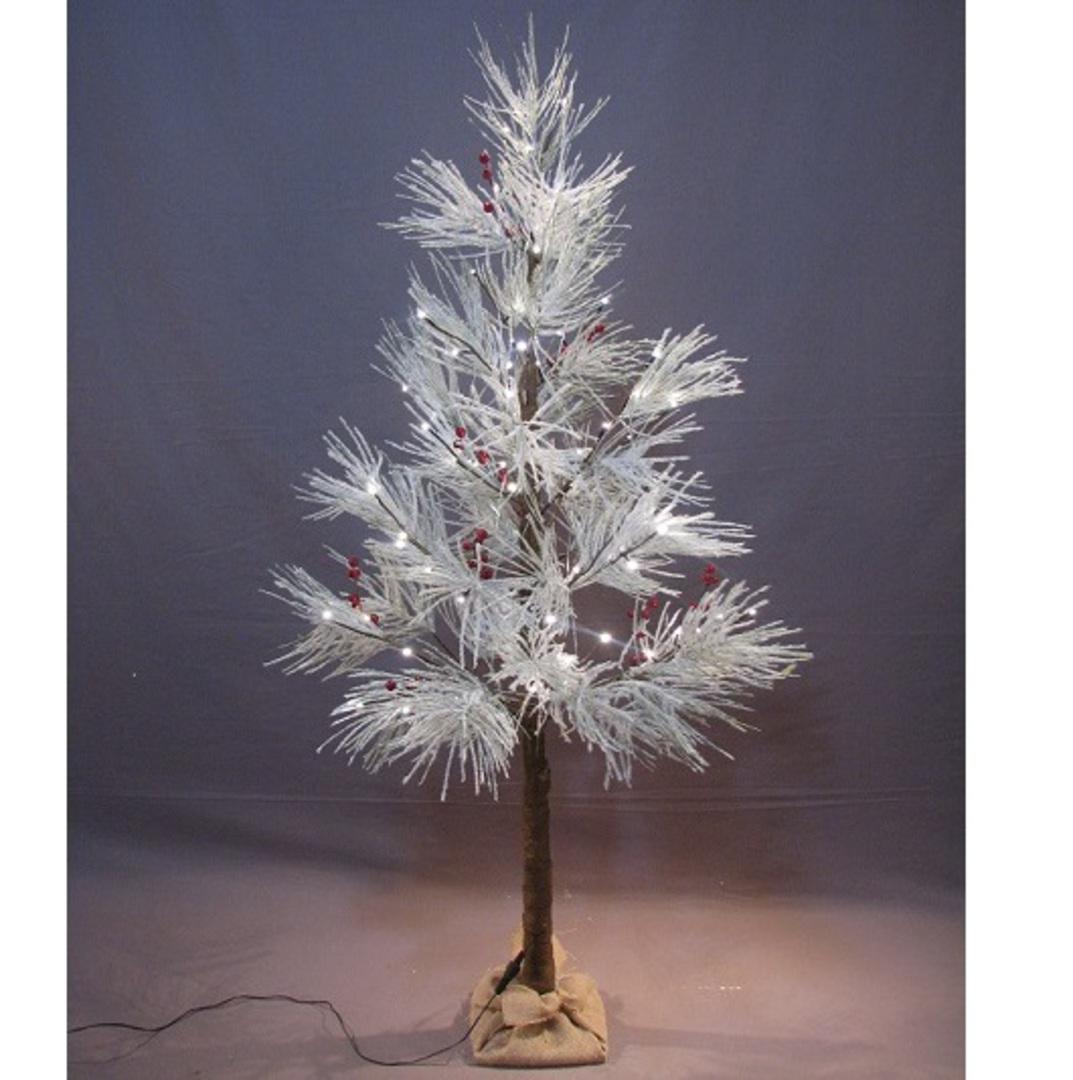 Long Needle Pine Tree 1.5mtr, 72 LED Lights image 1