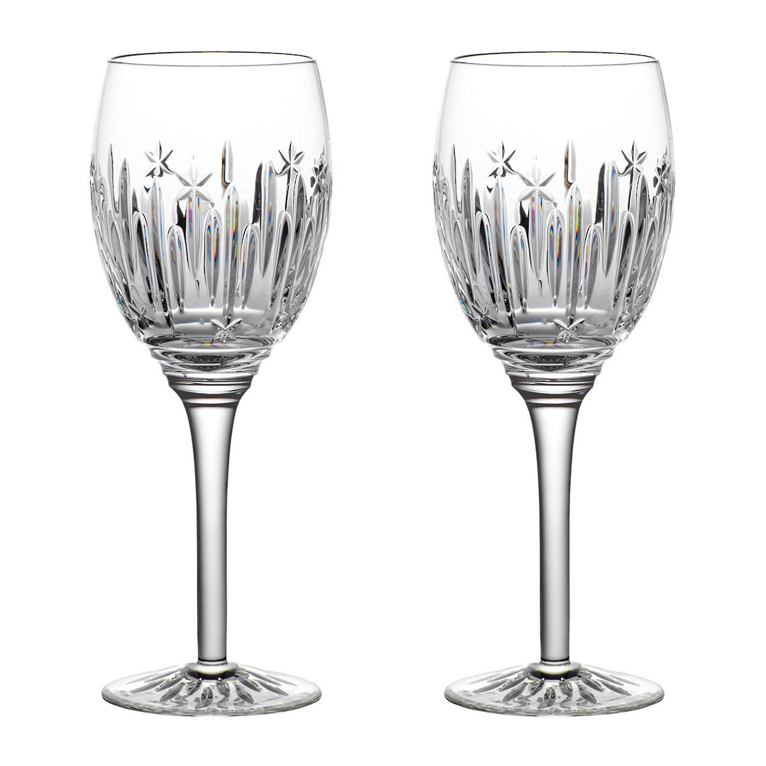 Waterford Winter Wonders Midnight Frost Wine Glass, Pair 2021 image 0