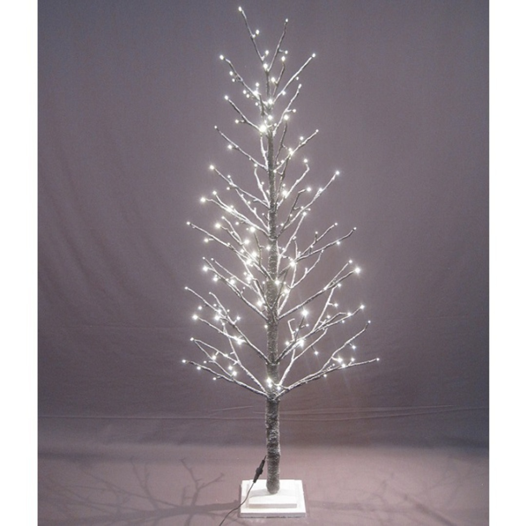 Snow Covered Twig Tree 1.5mtr, 186 LED Lights image 1