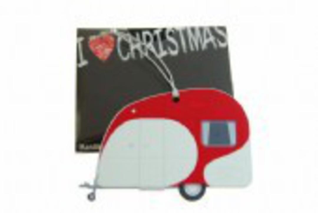 Hanging I Love Christmas NZ Caravan image 0