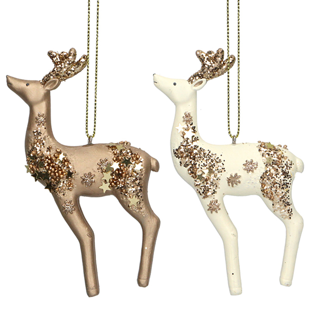 Resin Celestial Reindeer 10cm SOLD OUT image 0