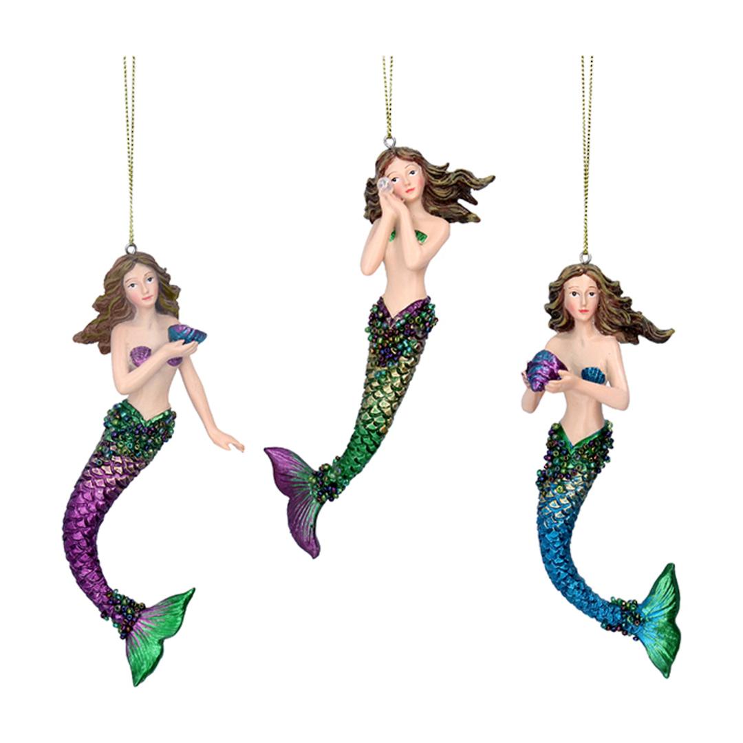 Resin Atlantis Mermaid17cm image 0