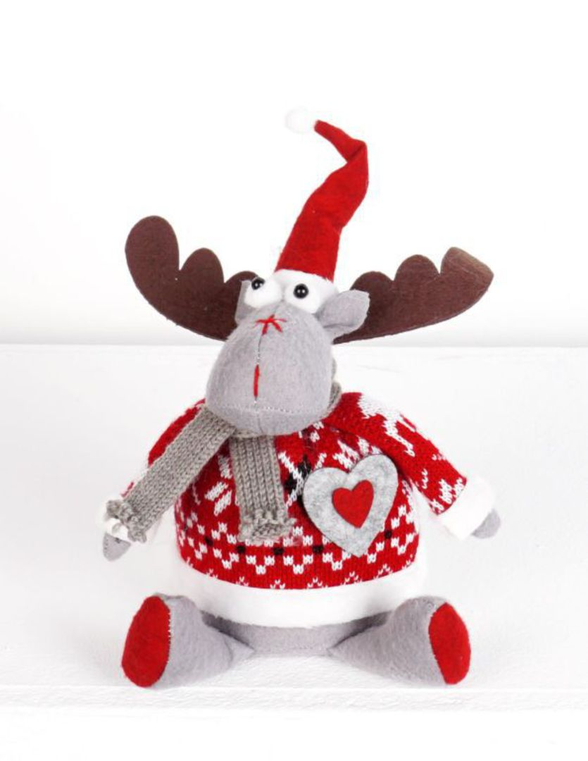 Plush Dasher Red Jumper image 0