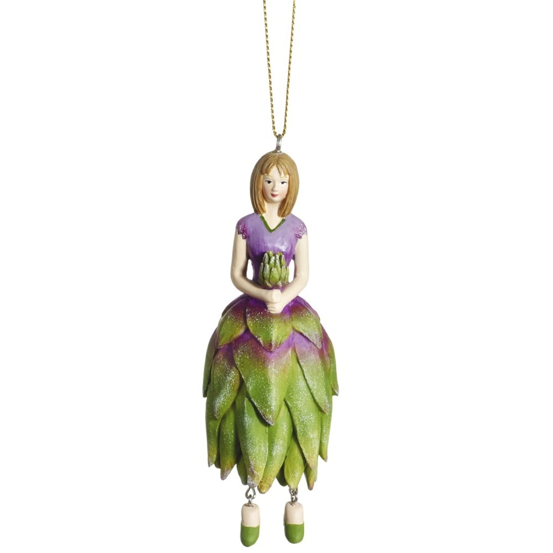 Flower Girl Protea Green/Lilac 12cm image 0