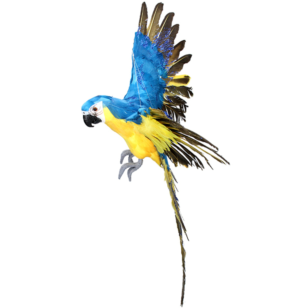 Flying Blue Macaw 66cm SOLD OUT image 0