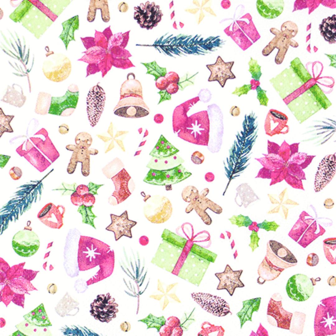 Paper Napkins 33cm, Christmas Collection image 0