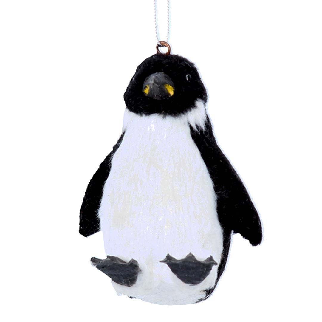 Faux Fur Penguin 7cm image 0