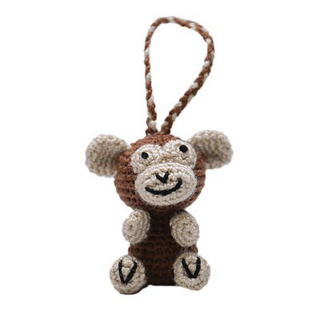 Mini Crocheted Monkey image 0