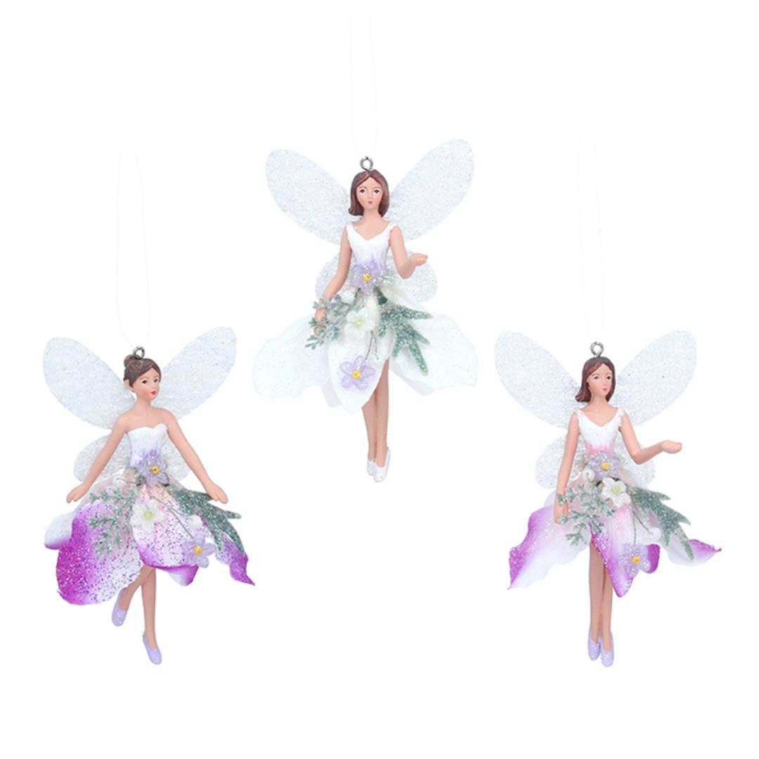Resin Fabric Winter Dream Fairy Small 10cm image 0