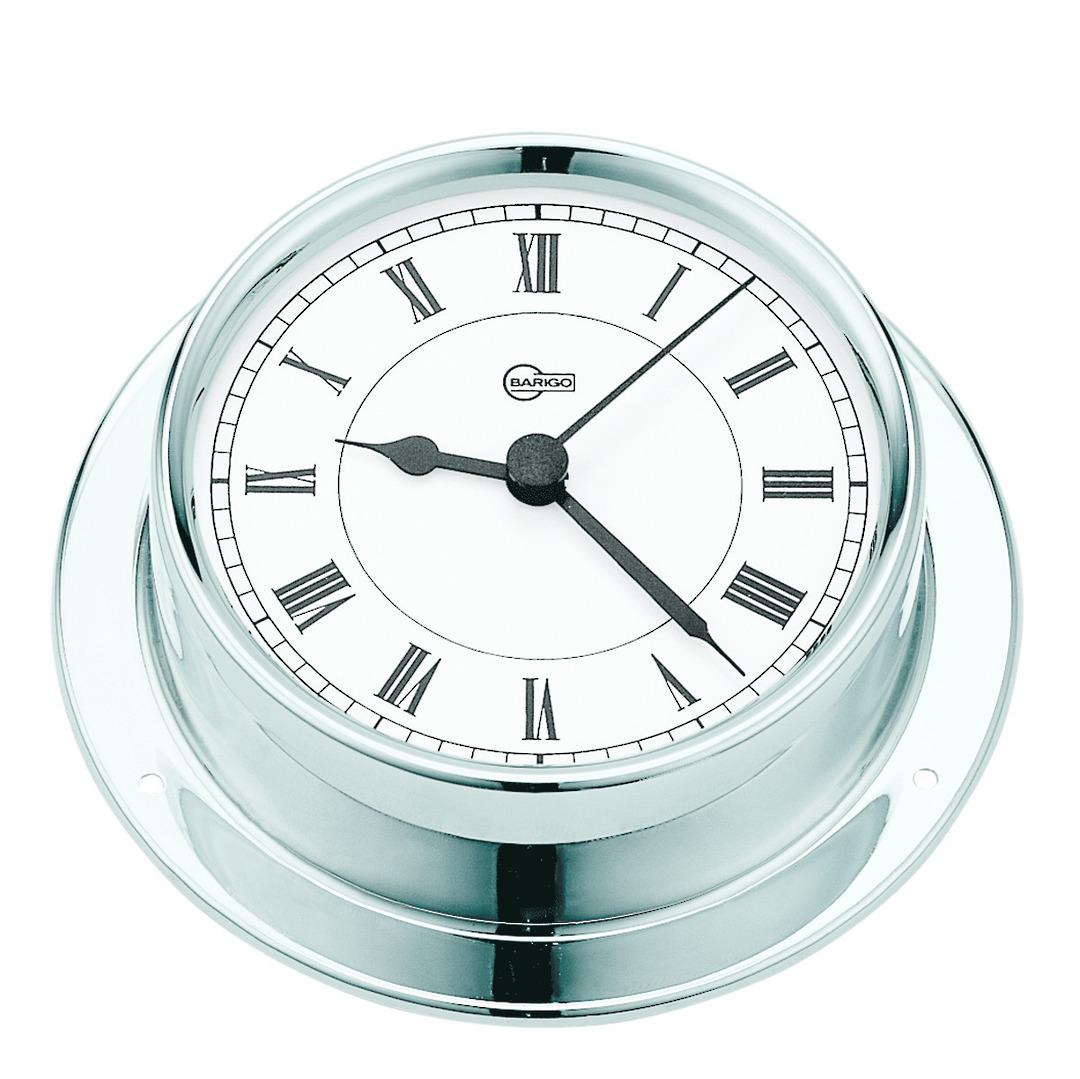 BM Marine Tempo Clock, Chrome image 0