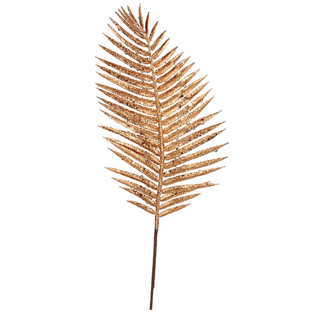 Gold Palm Leaf Spray 71cm image 0