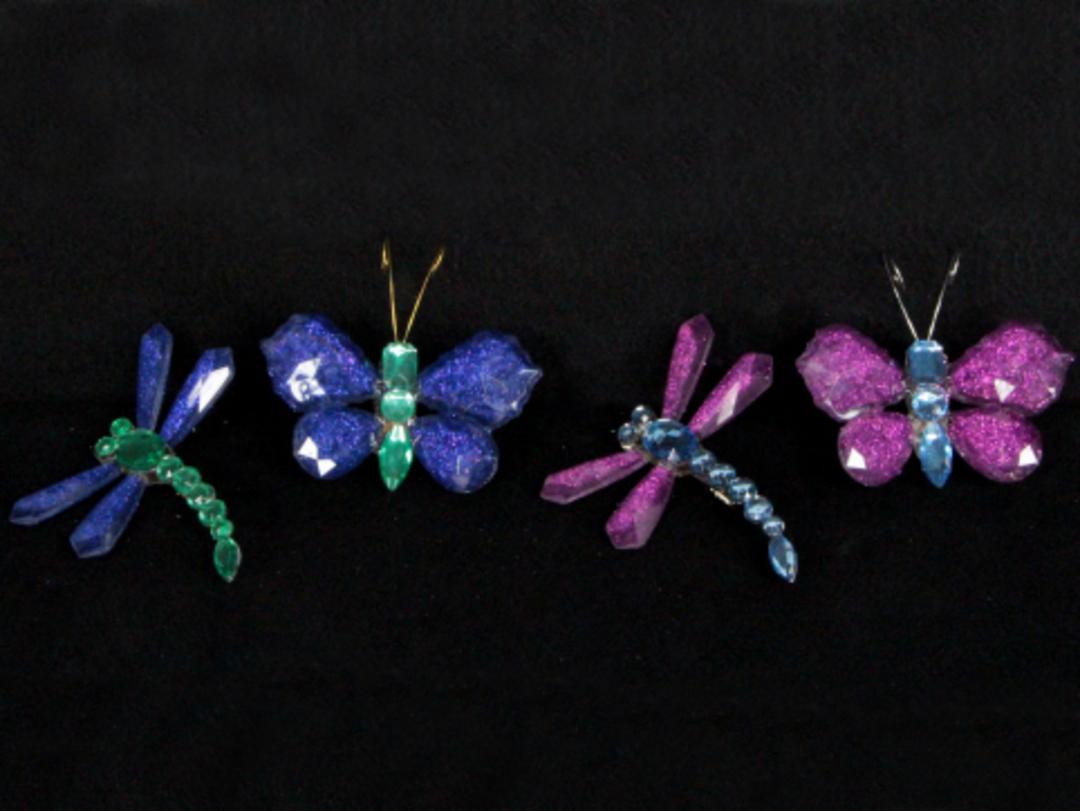MultiColour Insect on Clip 7cm image 0
