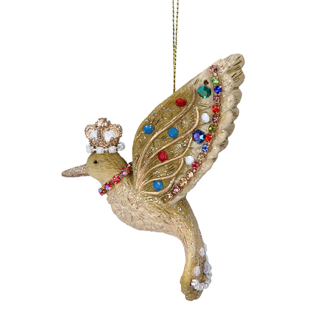 Resin Glorious HummingBird 7cm image 0