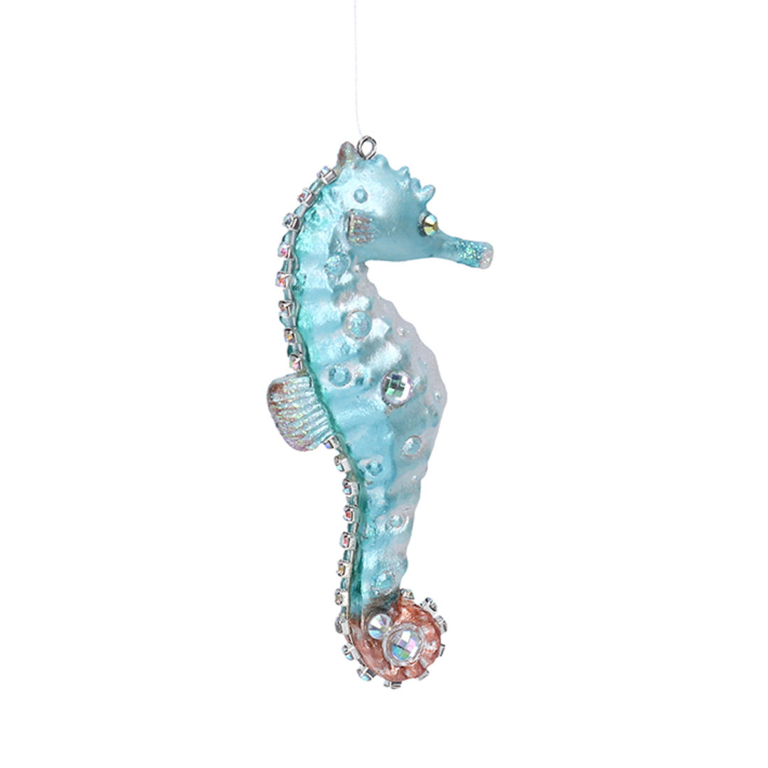 Resin Seahorse 10cm image 0