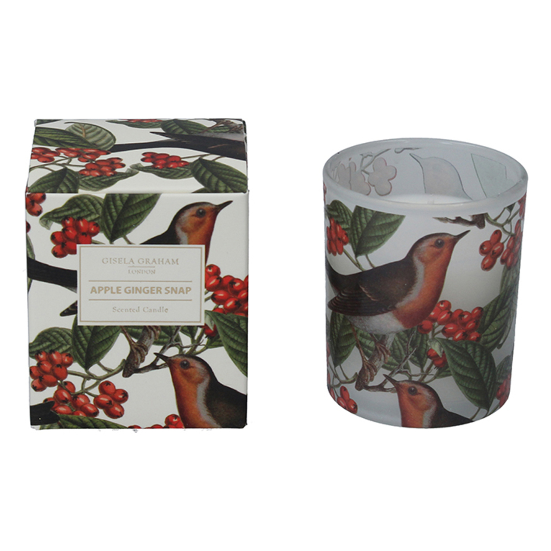 Robin and Berry, Candle Jar 8cm image 0