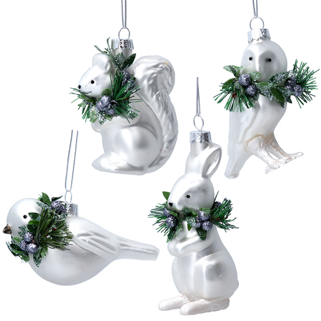 Glass Animal, Wreath Collar 9cm image 0