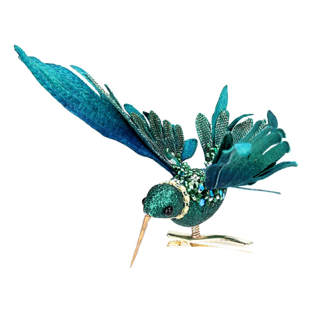 Bird Clip Petrol Flying Humming Bird16cm image 0
