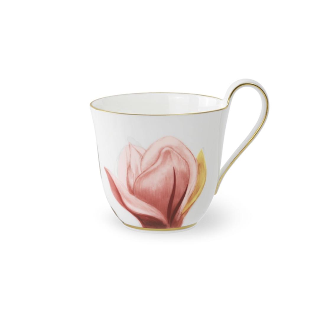 Royal Copenhagen Flora Magnolia Hi Handle Cup 330ml image 0