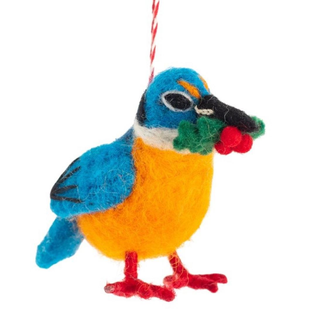 NZ Wool, Kingfisher 11x8cm image 0