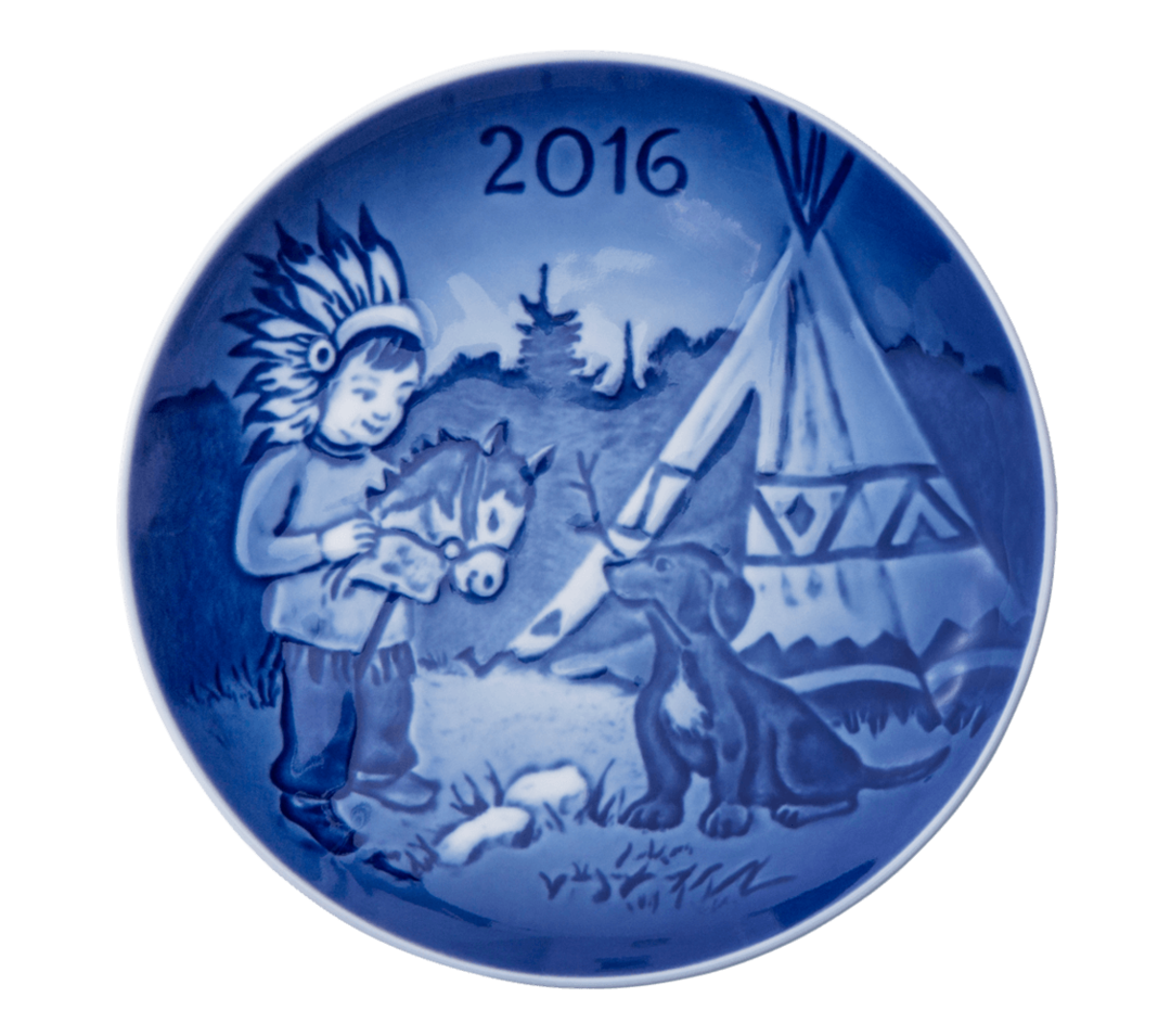 Bing & Grondahl Childrens Day Plate, 2016 image 0