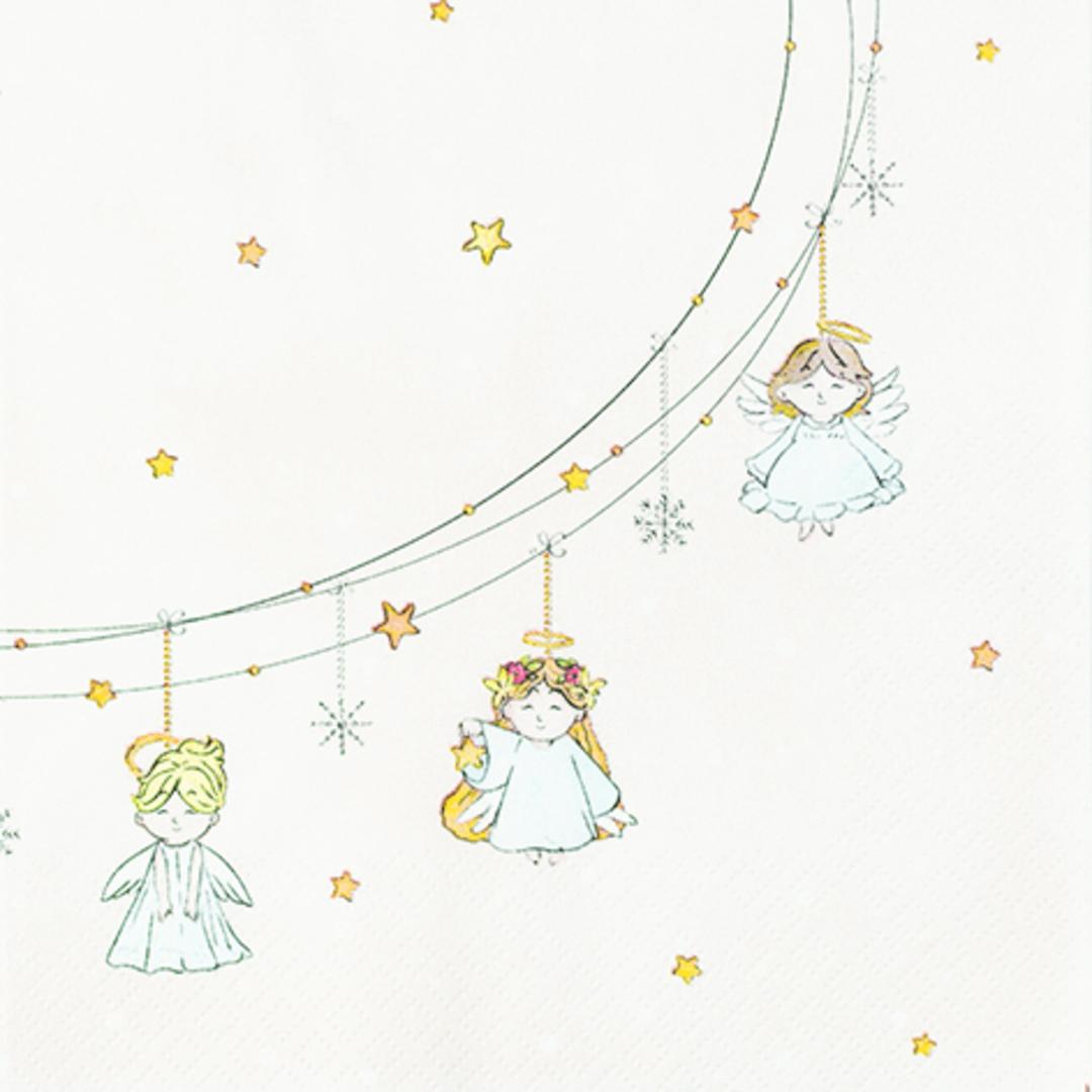 Paper Napkins 33cm, Little Angels image 0